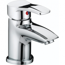 Bristan Capri Basin Mixer C/W Clicker Waste Chrome