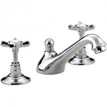 Bristan 1901 Three Hole Basin Mixer Chrome