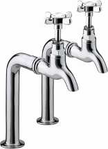 Bristan 1901 Bib Taps Chrome