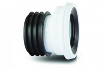 Polypipe Kwickfit Offset Pan Connector 12mm White SK46