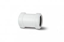 Polypipe Pushfit Waste 40mm Straight Connector White WP26W
