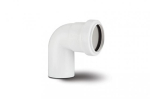 Polypipe Pushfit Waste 32mm Spigot Bend 92deg White WP23W
