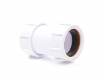 Polypipe Compression Waste Straight Connector 32mm PS32