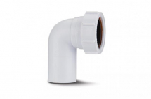 Polypipe Compression Waste Spigot Elbow 90deg 32mm SE1