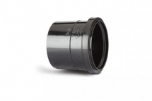 Polypipe 110mm Single Socket Pushfit Coupling Black SH43B