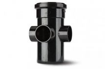 Polypipe 110mm Boss Pipe Black SJ454B
