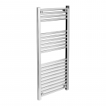 KRAD 500mm Wide Straight Chrome Towel Radiators
