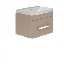 Essential Vermont Wall Hung Basin Unit 1 Drawer