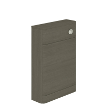 Essential Vermont Back To Wall WC Unit DARK GREY