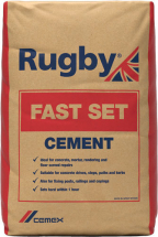 25kg Rugby Fast Set Cement