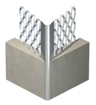 STAINLESS STEEL STANDARD ANGLE BEAD -3.0m