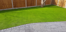38MM HAMPTON ARTIFICIAL GRASS YARD - OFF ROLL