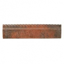 Bradstone Rustic Rope Edging Antique Red