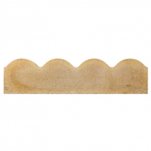 Bradstone Scalloped Edging Buff