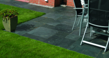 BRADSTONE NATURAL SLATE PATIO KIT BLUE/BLACK (10.20M2)