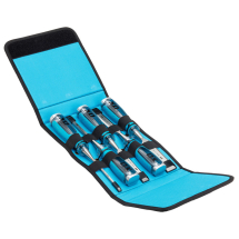 PRO 5 PIECE WOOD CHISEL SET IN VELCRO CASE