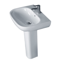 Essential Lily Washbasin 550mm 1TH