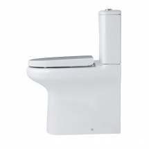 Essential Lily Comfort Height Close Coupled Toilet Open Back