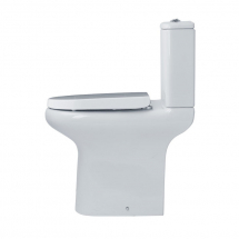 Essential Lily Comfort Height Close Coupled Toilet Closed Back