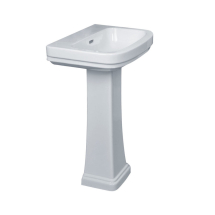 Essential Iris Washbasin 550mm 2TH