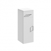 Essential Alaska Door And Drawer Unit 350mm WHITE