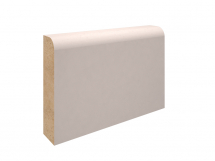 14.5X69MM MDF PENCIL ROUND SKIRTING PRIMED <F> (4.2m)