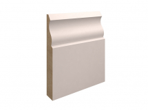 18X169MM MDF OGEE SKIRTING PRIMED <F> (4.2m)